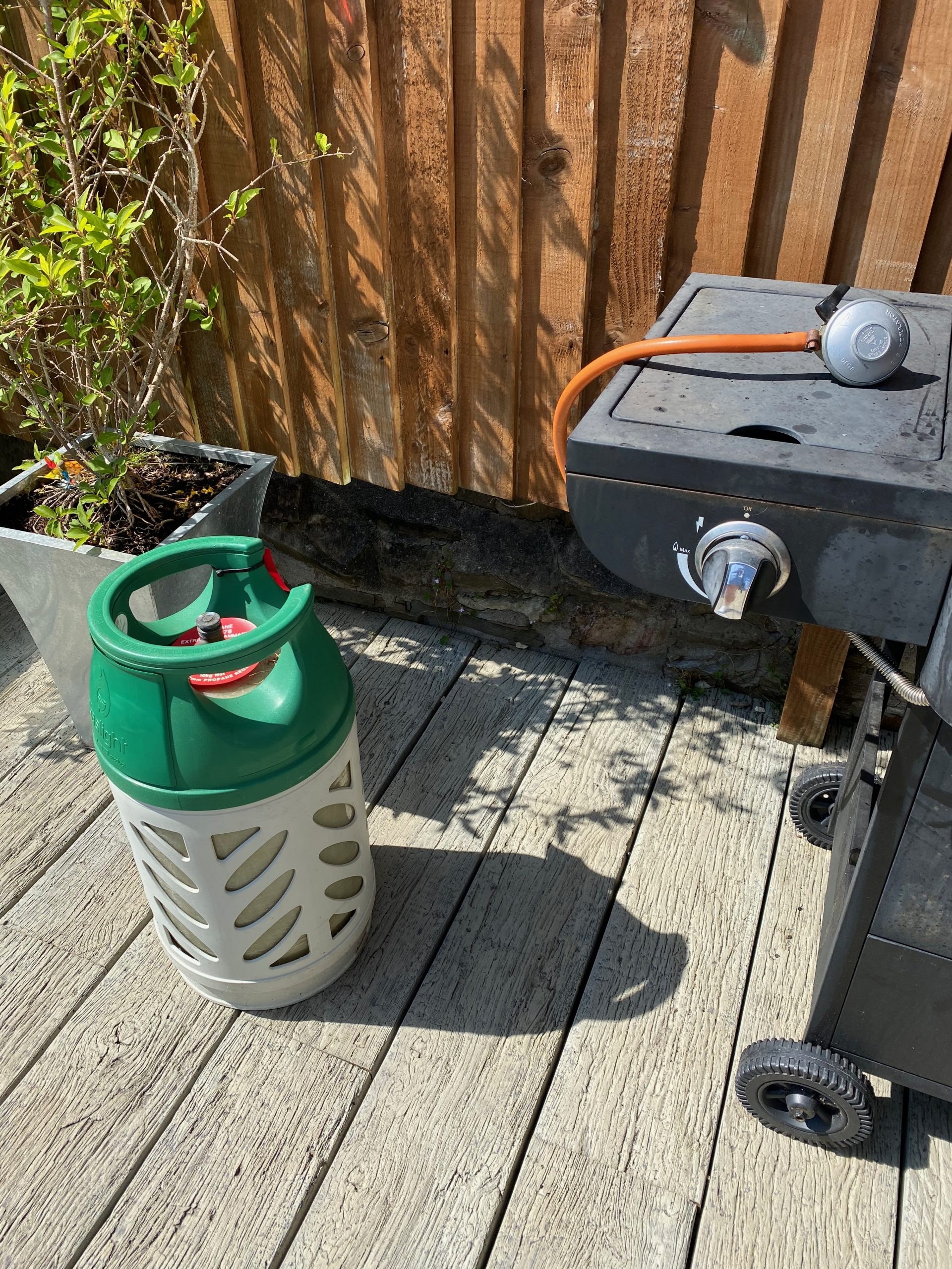 Remove Gas from BBQ