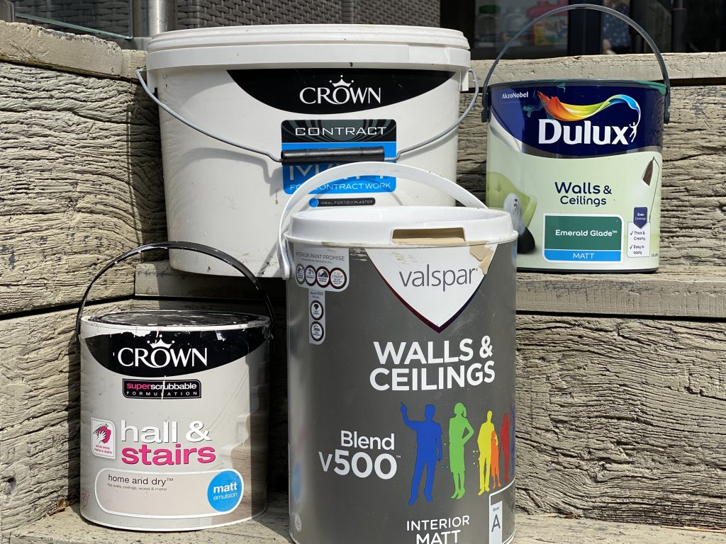 Trade Paint Vs Retail Paint